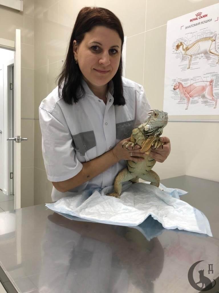 Главный врач филиала на Елецкой с пациентом